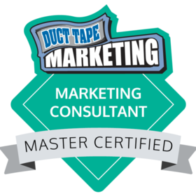 Duct Tape Marketing Master Certified Badge